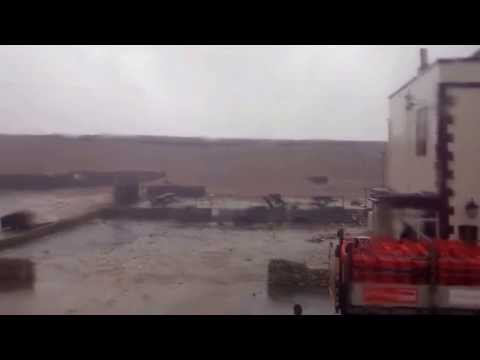 2014 Storm - Chesil Beach waves